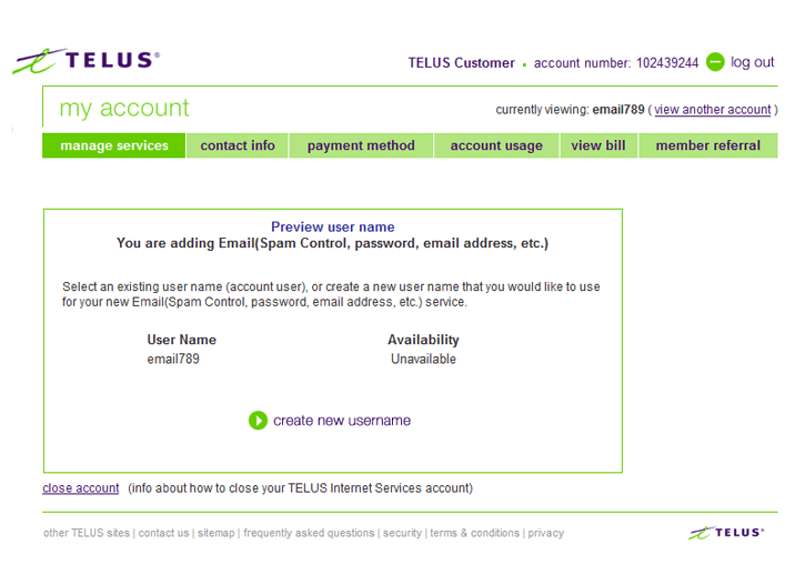 Set Up a New TELUS net Email Account | Help | TELUS Business
