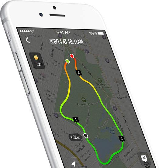 iPhone 6 - M8 motion coprocessor