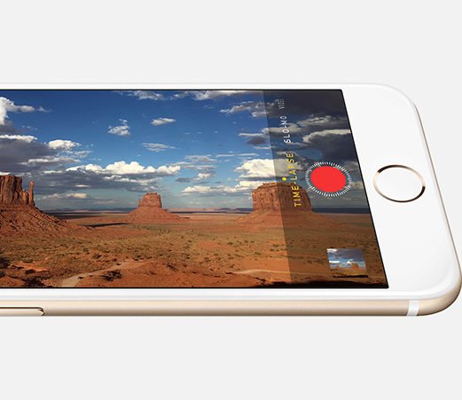 iPhone 6 - New 8MP iSight camera with Focus Pixels