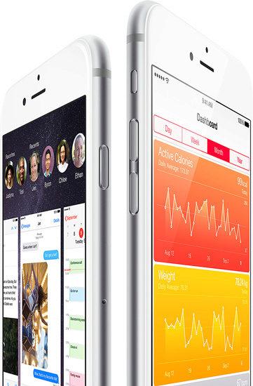 iPhone 6 - iOS 8