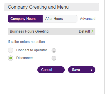 Greetings customizing your company hours greeting help telus record your company greeting over the phone m4hsunfo
