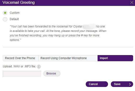 Voicemail customizing user hours help telus business note you can only use wav or 3 audio files wav audio files should be pcm at 8bit 16khtz you can use a third party software that detects the media m4hsunfo