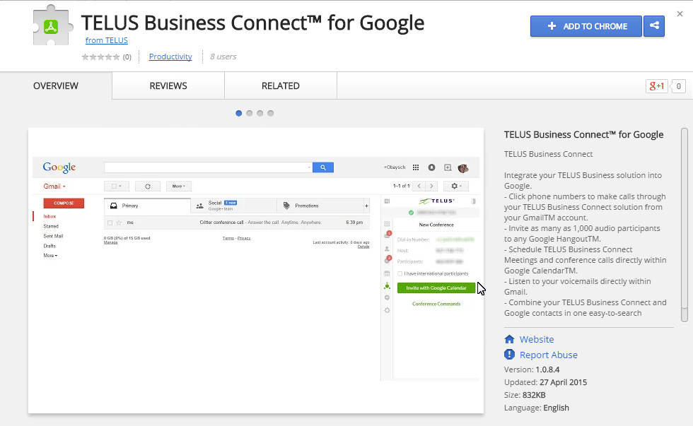 TELUS Business Connect for Google