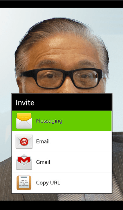 Invite participants to your Meeting
