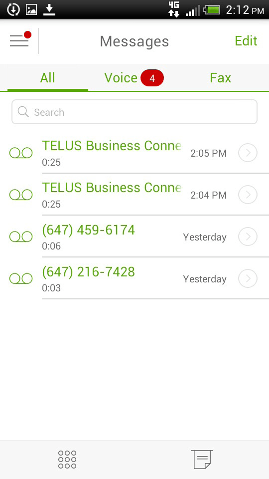 how to change telus voicemail message