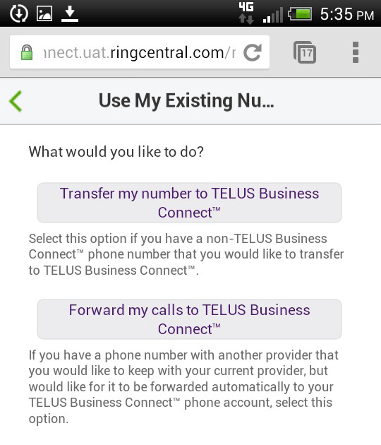 Hook up telus phone