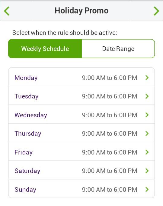 Call Queue Call Handling Wkly Schedule