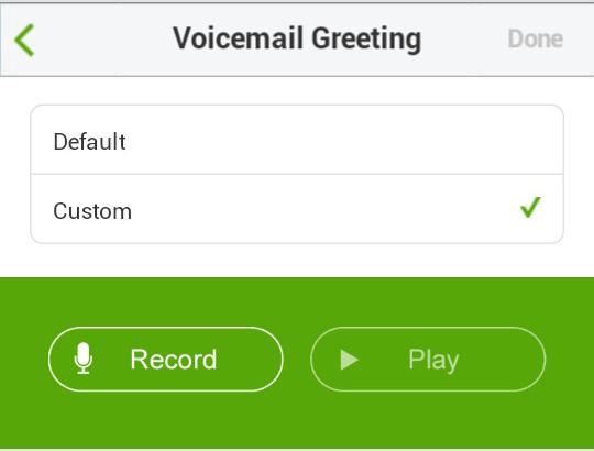 Call Queue Custom Greeting