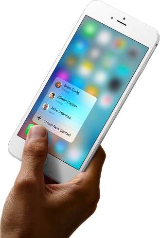 3D Touch - The next generation of Multi-touch.