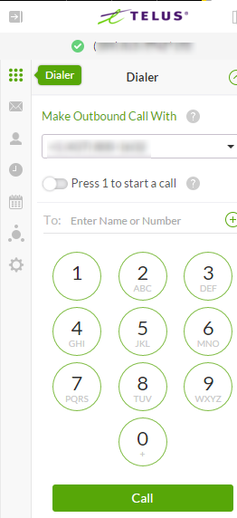 Checking your TELUS Business Connect messages with TELUS Business Connect for Office 365
