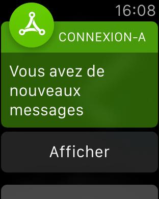 Actions lors de la réception de plusieurs messages
