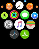 Accéder aux messages à partir de la montre Apple Watch