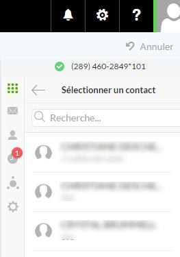 Faire un appel avec Connexion Affaires de TELUS pour Office 365