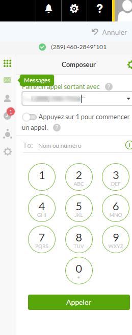 Vérifier vos messages Connexion Affaires de TELUS avec Connexion Affaires de TELUS pour Office 365