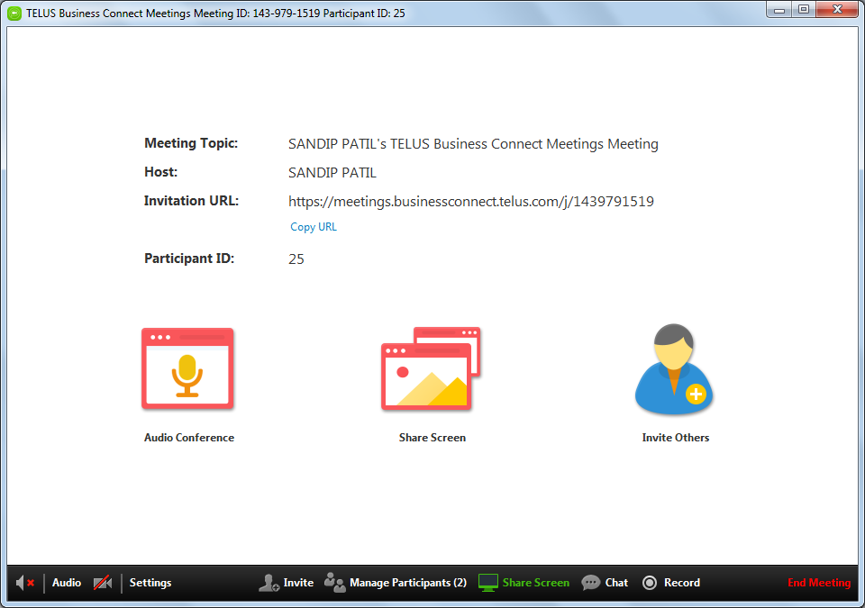 Business Connect Meetings Plugin for Microsoft Outlook