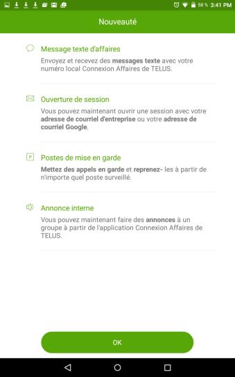 SMS Affaires