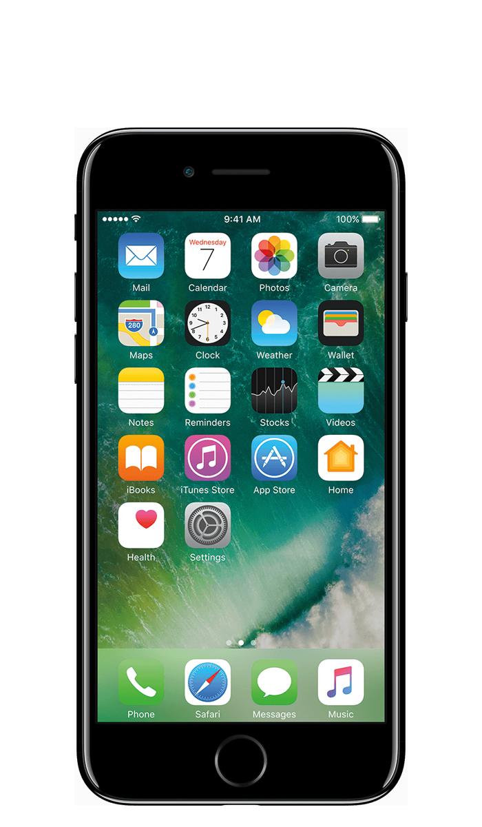 Apple iphone 7 jetblack en