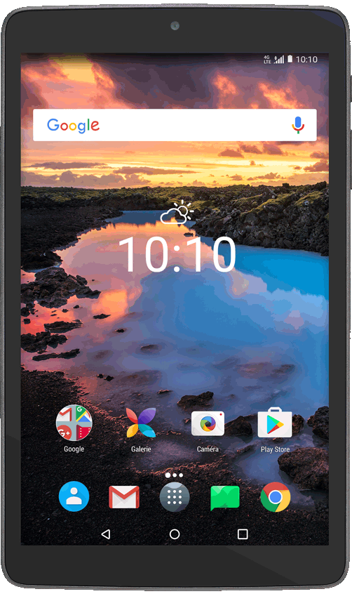 Tablette Alcatel A30, Noir