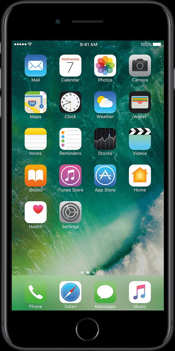 iPhone 7 Plus, Black
