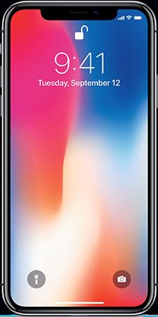 iPhone X, Space Grey