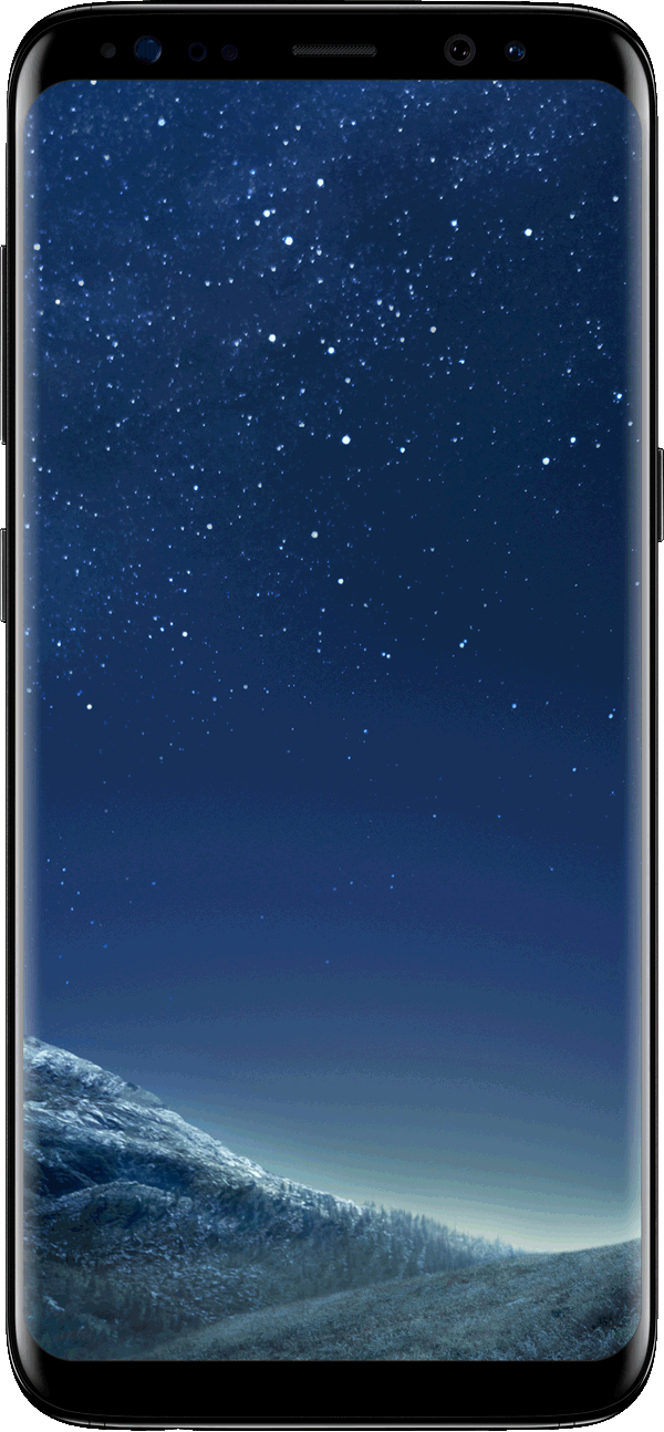 Samsung Galaxy S8, Midnight Black